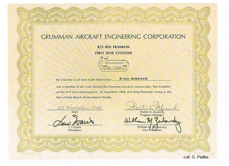 Grumman Aircraft Engineering Corporation award